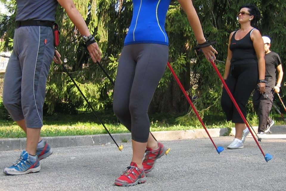 Nordic Walking - Percorso dell'Arboreto