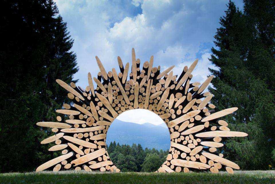 Bestaunen Sie Die Zeitgenössische Bergarchitektur Arte Sella Apt