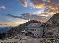 Avventura in rifugio con guida alpina