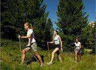 Uscita di Nordic Walking