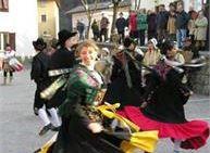 Spettacolo con il Gruppo Folk di Castello Tesino