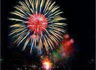 Festa di Capodanno e fuochi d'artificio