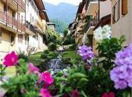 Camminare tra gli alberi e l'elemento acqua al torrente Maggiore di Levico Terme