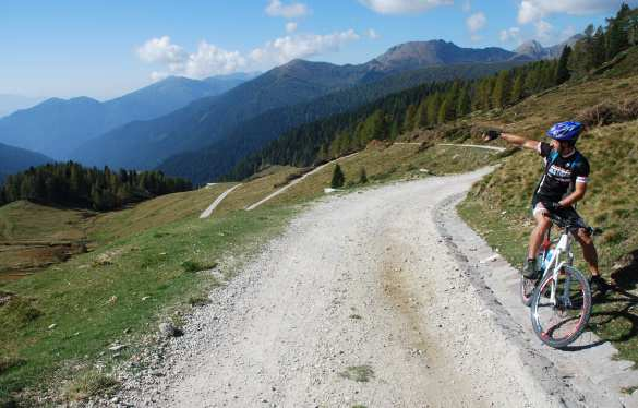 Mountainbike - Cima d'Asta Tour 2343
