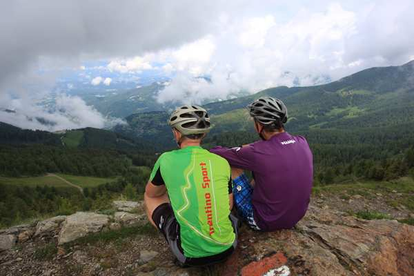 Mountainbike - Tour der Val di Sella 2344