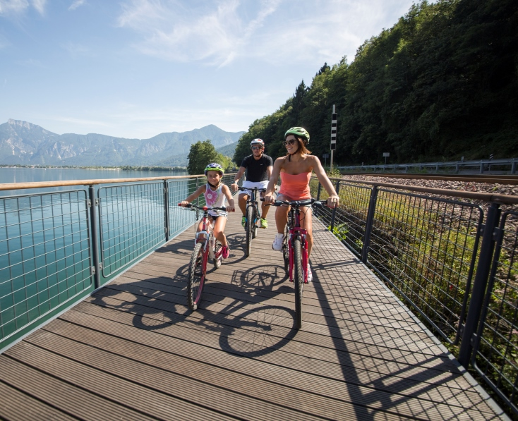 The Valsugana Cycling Path